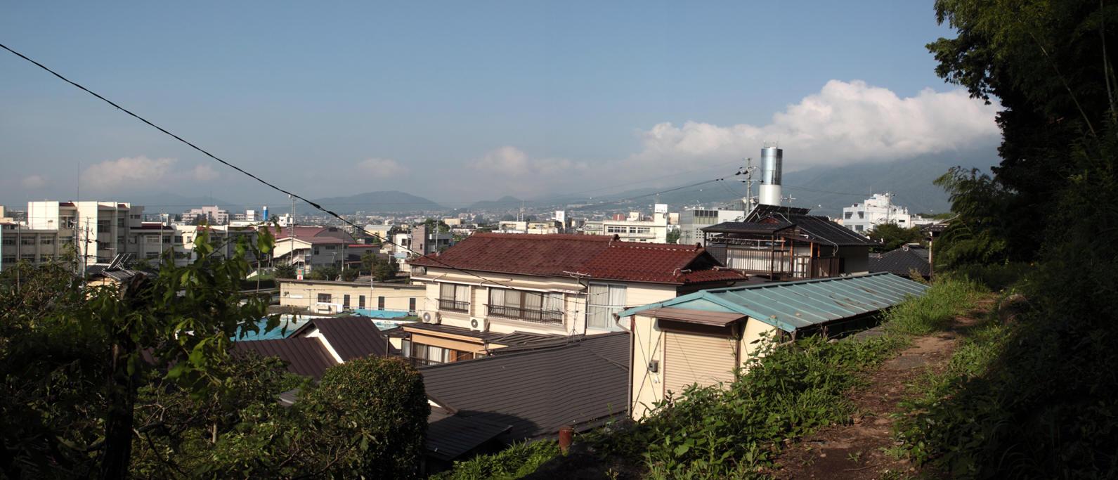 飯田市宮ノ上と高羽町6丁目境目からの風景