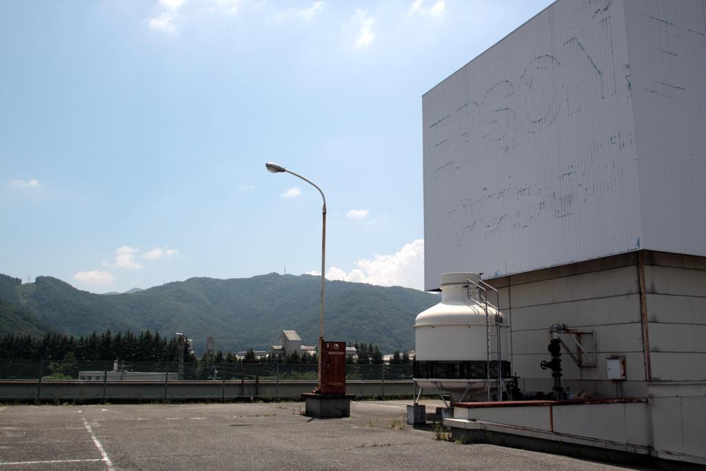 塩尻駅付近駐車場屋上 2