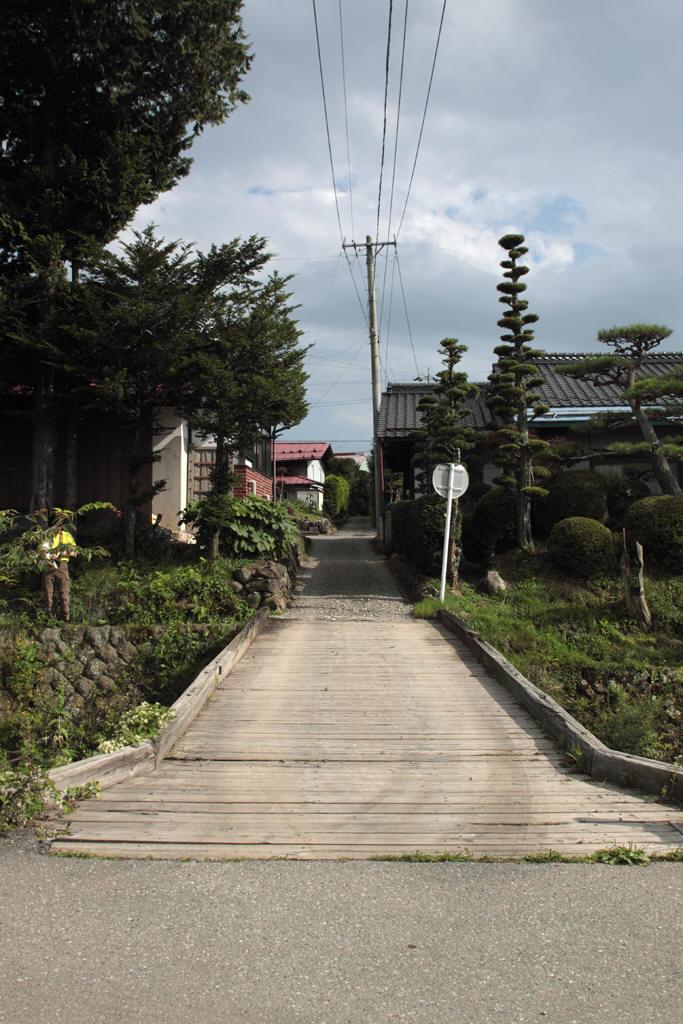 原村の木橋