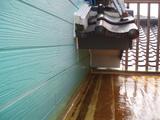 防水シート張りました