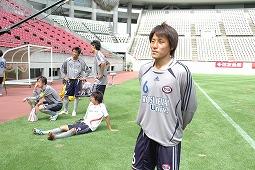 20080831 天皇杯予選決勝-インタビュウ宮崎