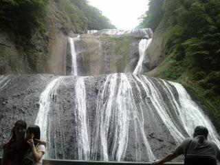 820袋田の滝