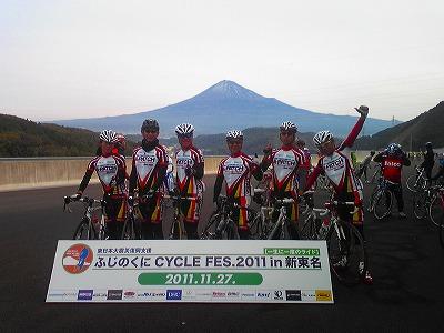 富士山バック
