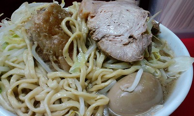 麺 豚 味玉