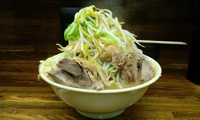 大 麺カタメ