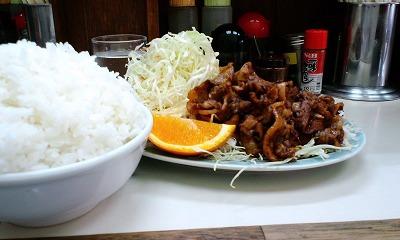 生姜焼き定食 大盛り