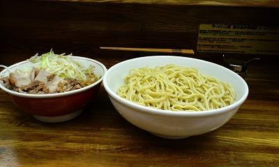 大 つけ麺 麺 ちょいマシ