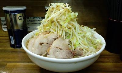 前回の 大 麺カタメ ヤサイマシマシ カラメ