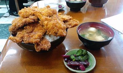 ソースカツ丼 5枚丼 大盛り