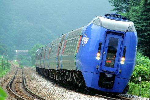 JR北海道283系気動車