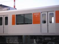 東武50000系の窓(開閉可能)