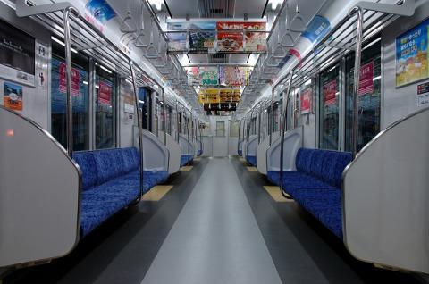 東武50000系車内(後期)