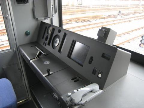 東武50000系の運転台