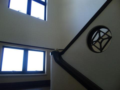 音楽室への階段!