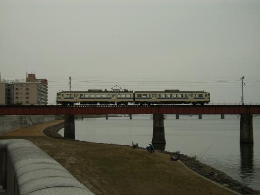 確か宮崎駅方面の電車