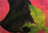 おとなのサマースクール2010 日本画 夏野菜を描く 003