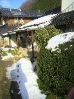 いなかの雪