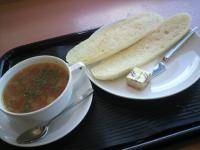 トースト&スープセット(ミネストローネ)