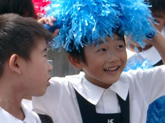 あらし5歳 パレード1