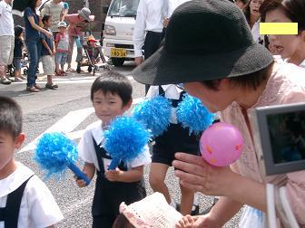 あらし5歳 パレード2