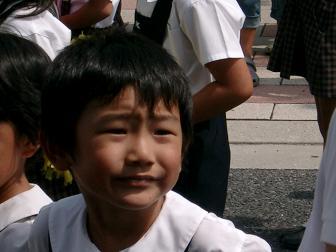 あらし5歳 パレード4
