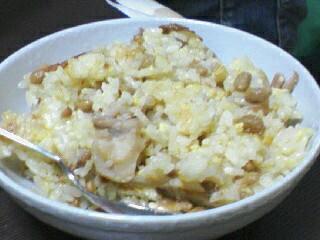 納豆ちゃ。