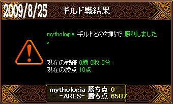 8/25mythologia戦