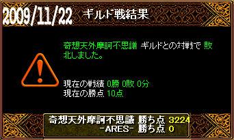 11/22奇想天外摩訶不思議戦