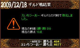 12/18えいちつーおー戦