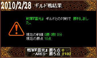 2/28戦軍『雷光』戦