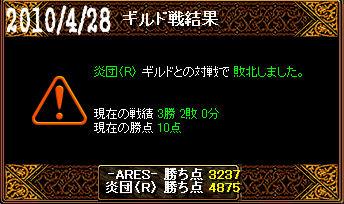 4/28炎団(R)戦