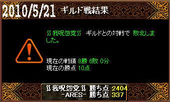 5/21∬我呪怨党∬戦