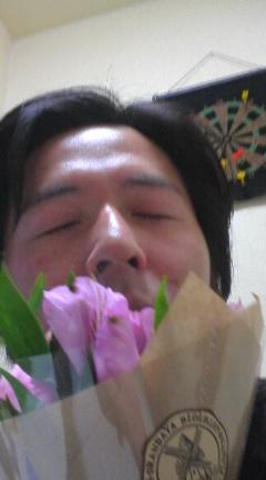 お花嬉しい