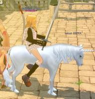馬にのってみた