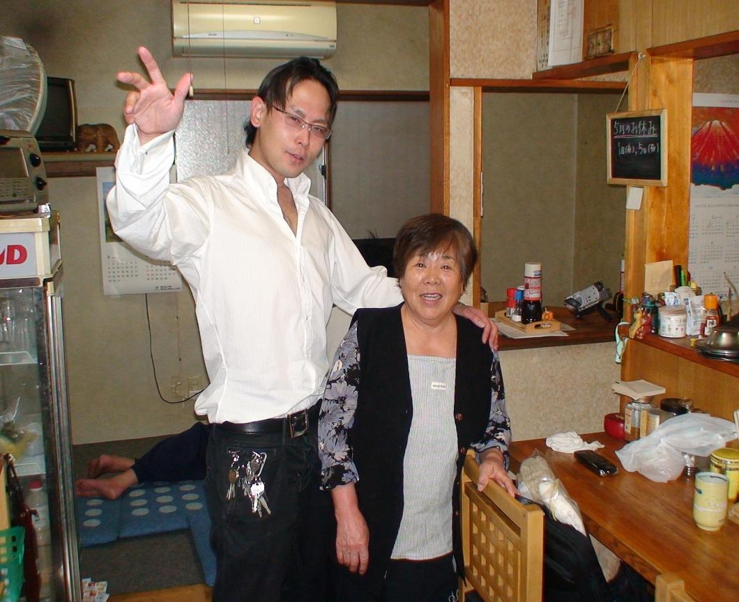 山梨県甲府市宝の定食屋わらくの高山さん