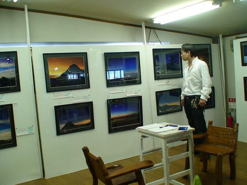 山梨百名山から見る風景の写真展に行ってきました?!!