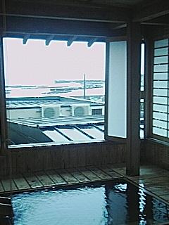 網代観光ホテル部屋つき露天