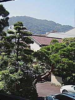 山木旅館からの眺め