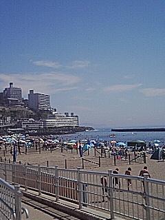 サンビーチ次の日