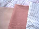 リーズナブルな布をチョイス。