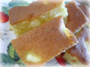 ホットケーキミックスケーキ1