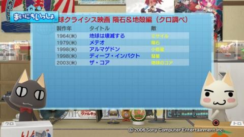 torosute2009/1/20 地球は何回静止した? 12
