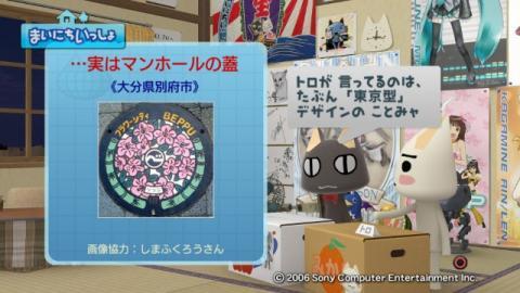 torosute2009/2/23 アートなマンホール