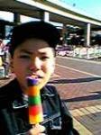 虹色アイス♪