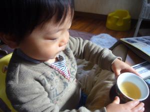 初ほうじ茶