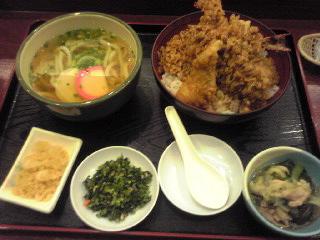 天丼定食at浪花