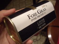 Foie Gras can