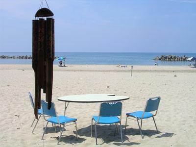 080813湯の浜、友人と飲み (2)
