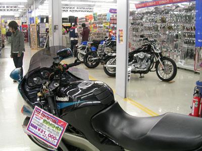 090404飯田バイク屋、コメダコーヒー 001