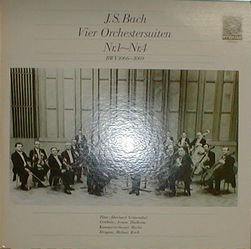 ヘルムート・コッホ指揮ベルリン室内管弦楽団バッハ管弦楽組曲